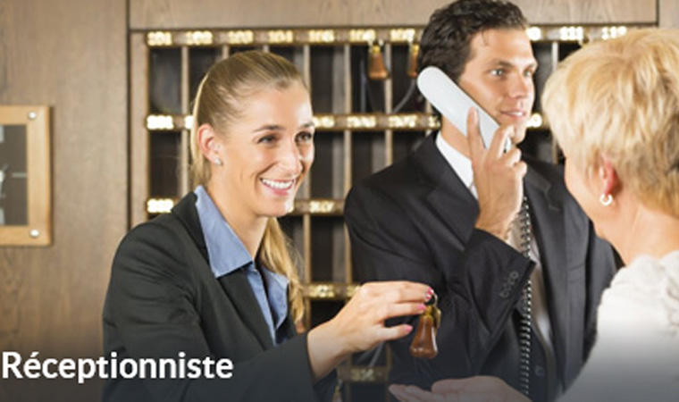 receptionniste